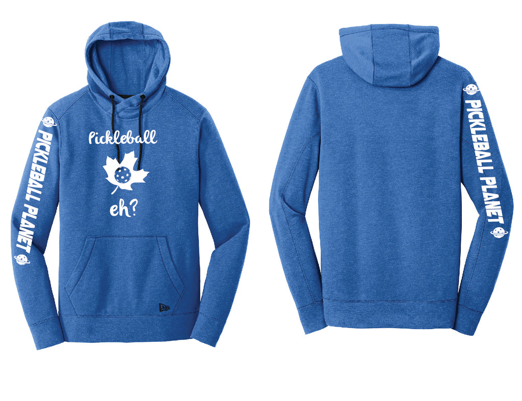 Men's Pullover Hoodie Royal Heather Pickleball Eh