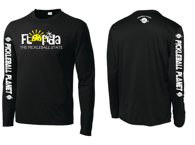 Men's Long Sleeve Black Florida