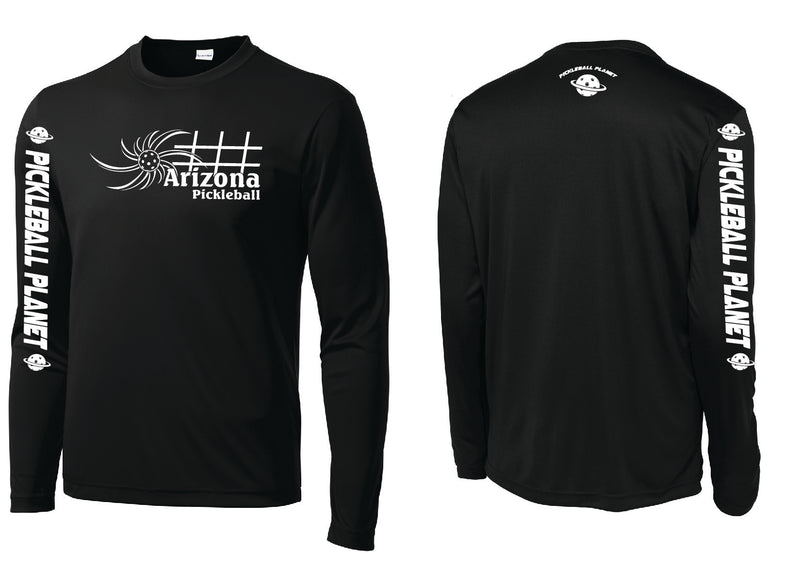 Men's Long Sleeve Black Arizona Sun