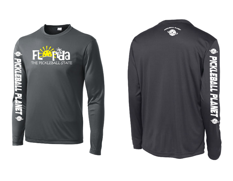 Men's Long Sleeve Iron Gray Florida