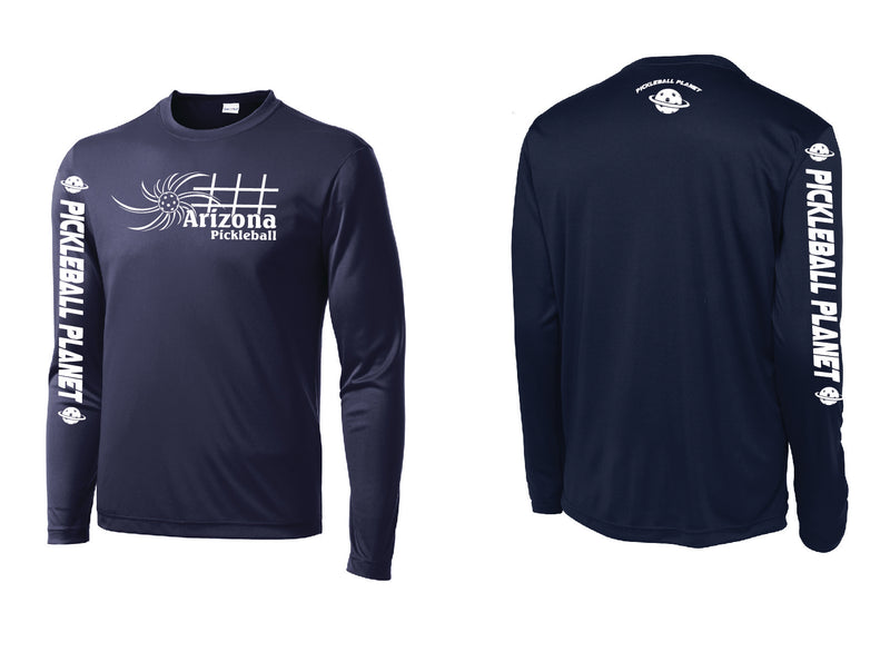Men's Long Sleeve Navy Blue Arizona Sun
