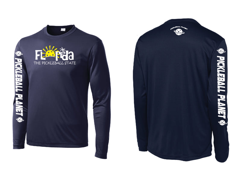 Men's Long Sleeve Navy Blue Florida