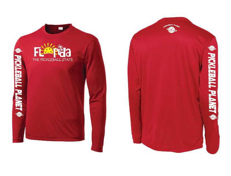 Men's Long Sleeve Red Florida