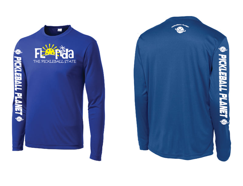Men's Long Sleeve Royal Blue Florida