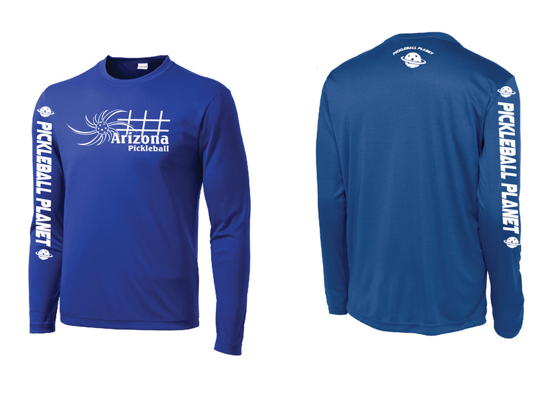 Men's Long Sleeve Royal Blue Arizona Sun