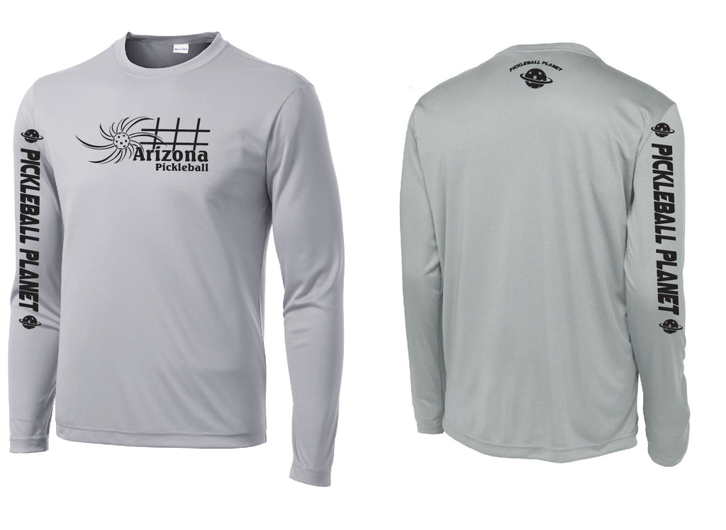 Men's Long Sleeve Silver Arizona Sun