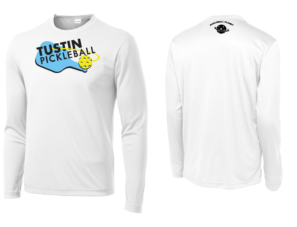 Men's Long Sleeve Performance 'Tustin PBC' Shirt- White