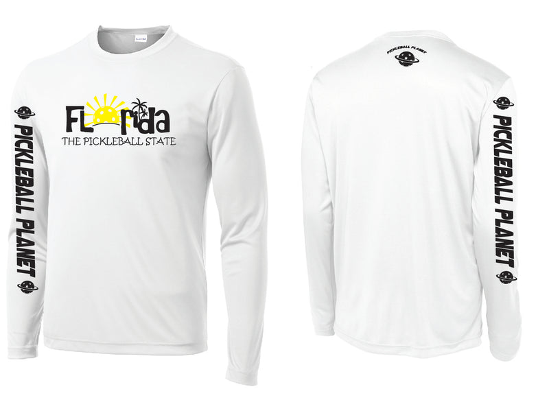 Men's Long Sleeve White Florida