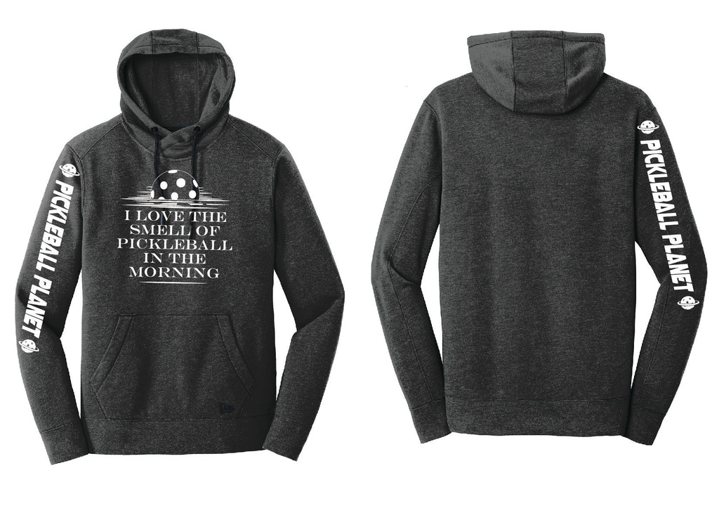 Men's Pullover Hoodie Black Heather I Love the Smell