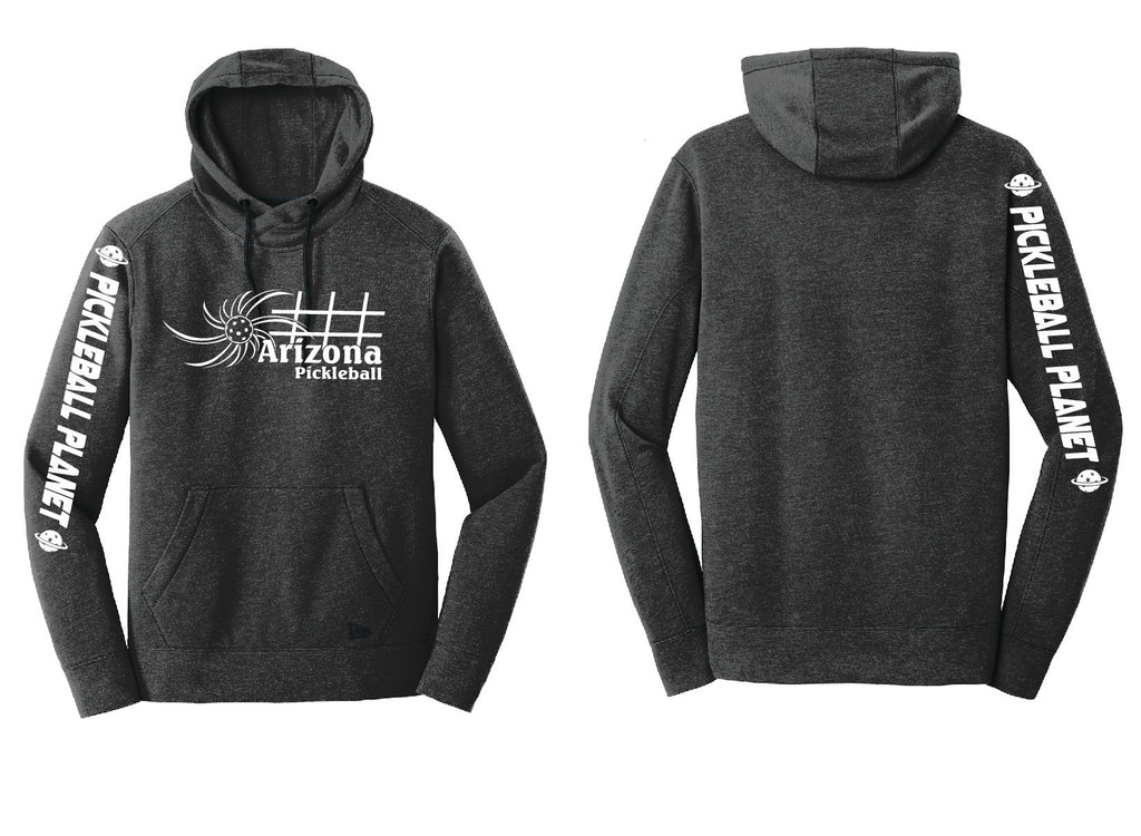Men's Pullover Hoodie Black Heather Arizona Sun