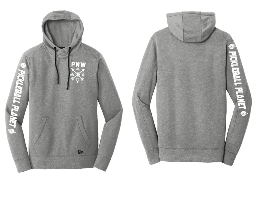Men's Pullover Hoodie Shadow Gray Heather PNW