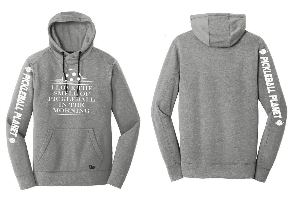 Men's Pullover Hoodie Shadow Gray Heather I Love the Smell