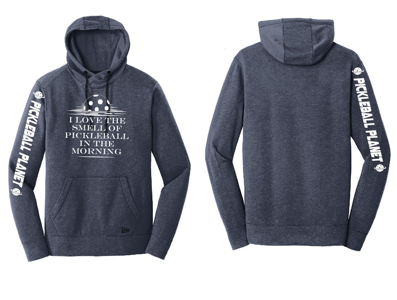 Men's Pullover Hoodie Navy Heather I Love the Smell