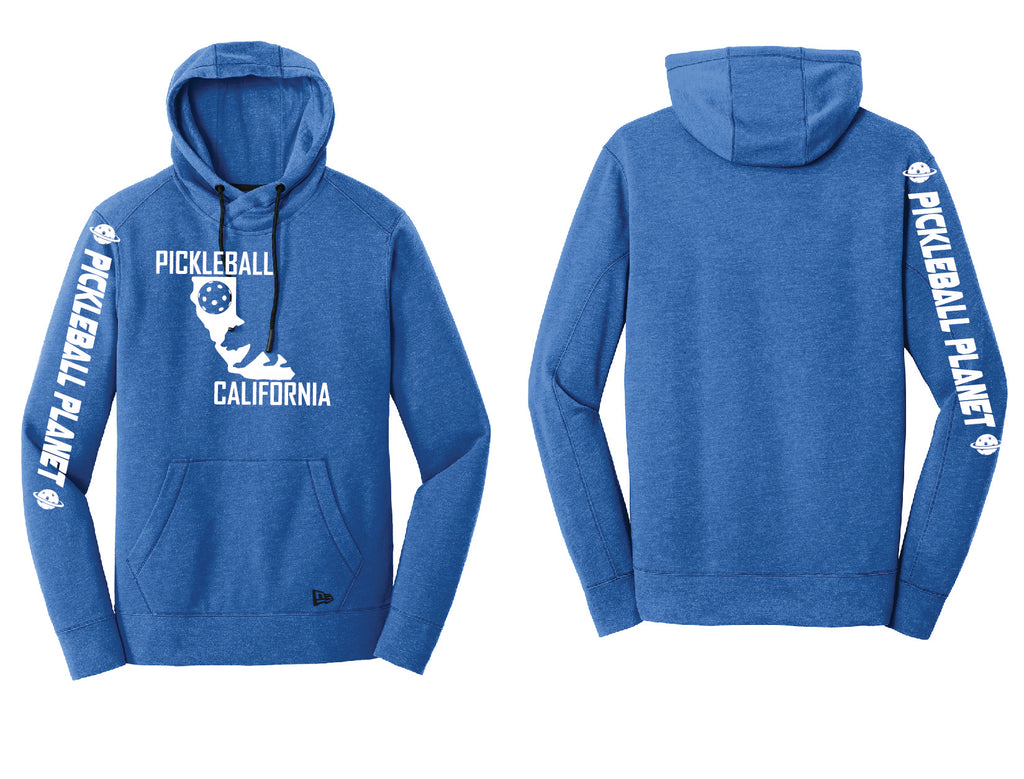 Men's Pullover Hoodie Royal Heather California Bear