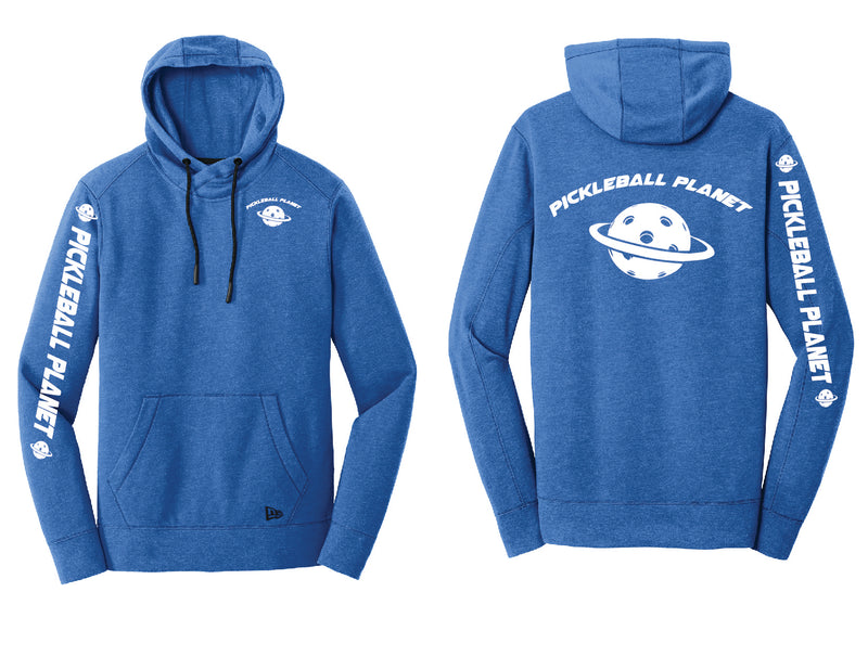 Men's Pullover Hoodie Royal Heather Pickleball Planet