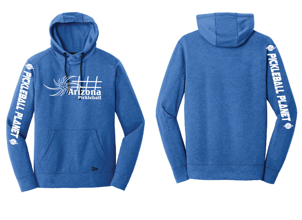 Men's Pullover Hoodie Royal Heather Arizona Sun