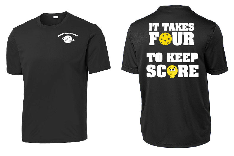 Men's Short Sleeve Performance Tee '4 To Score'