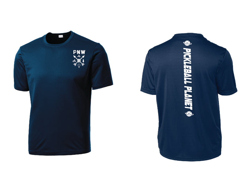 Men's Short Sleeve Navy Blue PNW