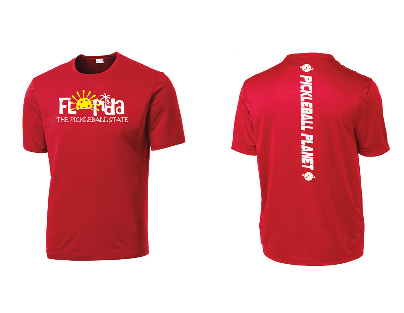 Men's Short Sleeve Red Florida