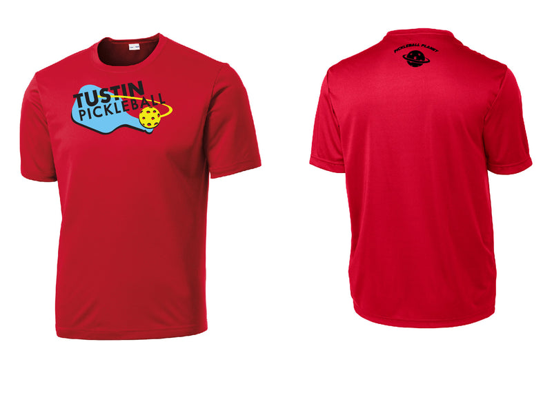 Men's Short Sleeve Performance 'Tustin PBC' Shirt- Red