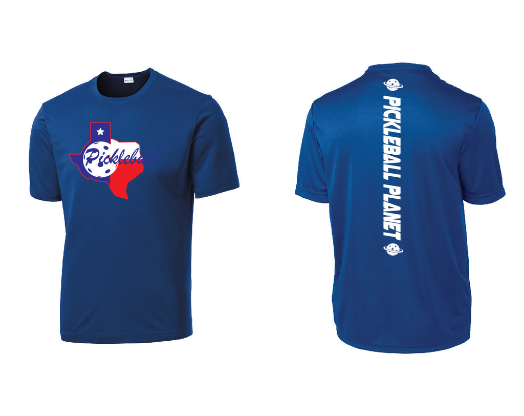 Men's Short Sleeve Royal Blue Texas State