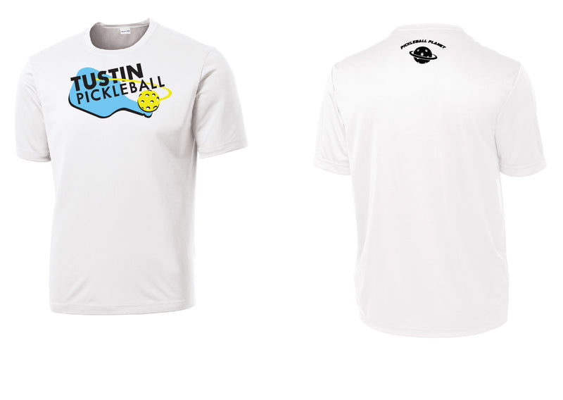 Men's Short Sleeve Performance 'Tustin PBC' Shirt- White