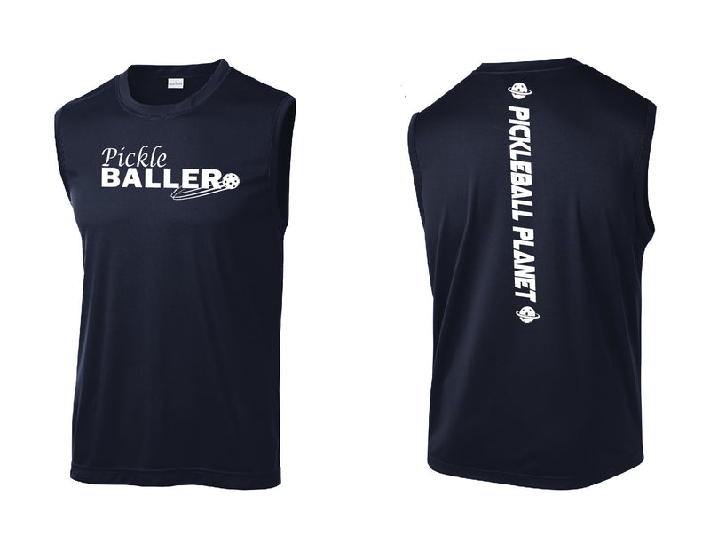 Men's Sleeveless Performance Tee 'Pickleballer'