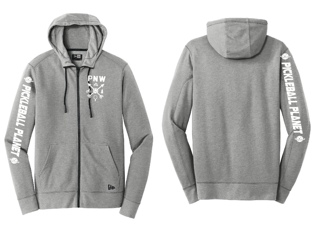 Men's Full Zip Hoodie Shadow Gray Heather PNW