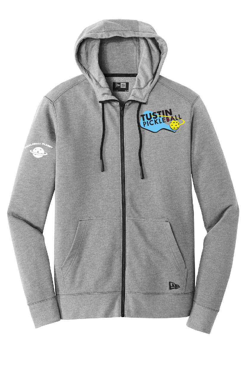 Men's New Era ® Tri-Blend Fleece Full-Zip Hoodie 'Tustin PBC'