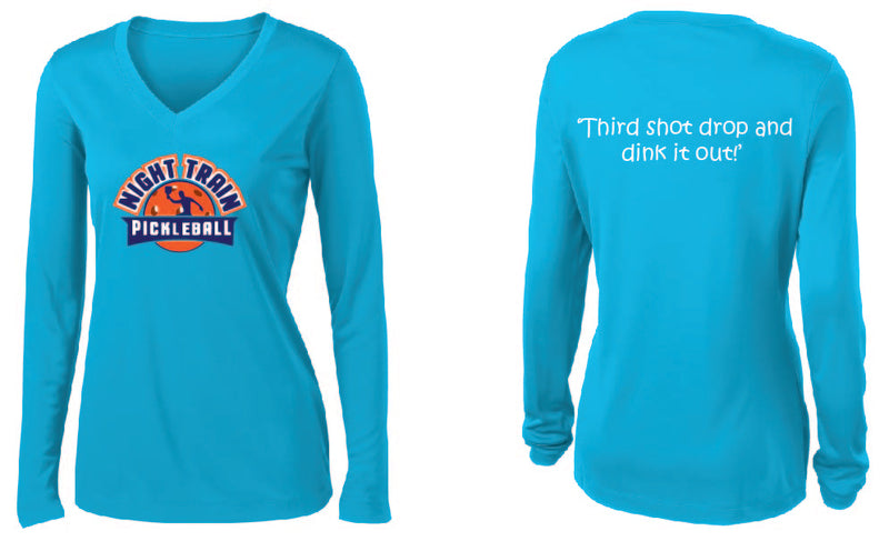 Women's Long Sleeve Performance 'Night Train' Shirt