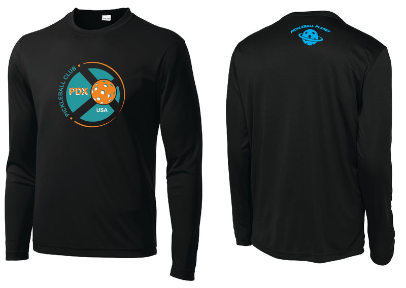 Men's Long Sleeve Performance 'PDX Pickleball' Shirt