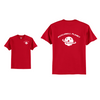 Men's Short Sleeve Cotton Red Pickleball Planet