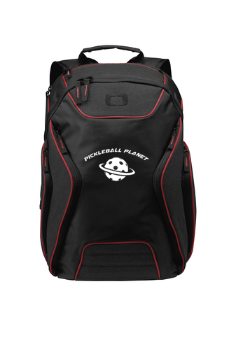 Red pickleball backpack