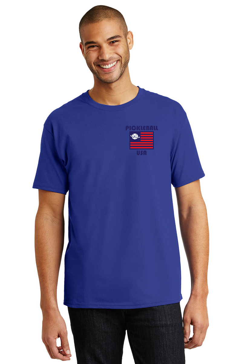 Men's 100% Cotton Tee 'PB USA'