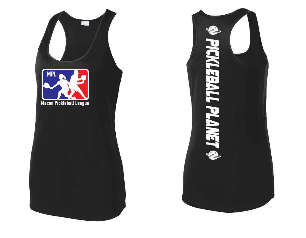 Ladies Performance Racerback Tank 'MPL'