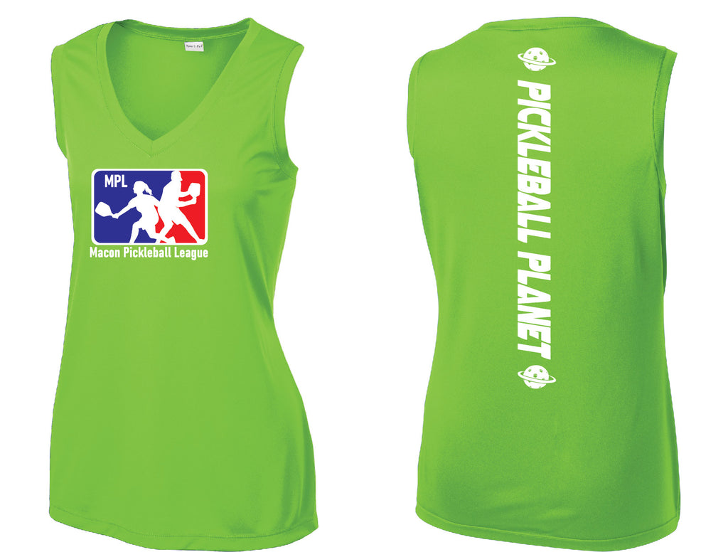 Ladies Sleeveless Performance Tee 'MPL'