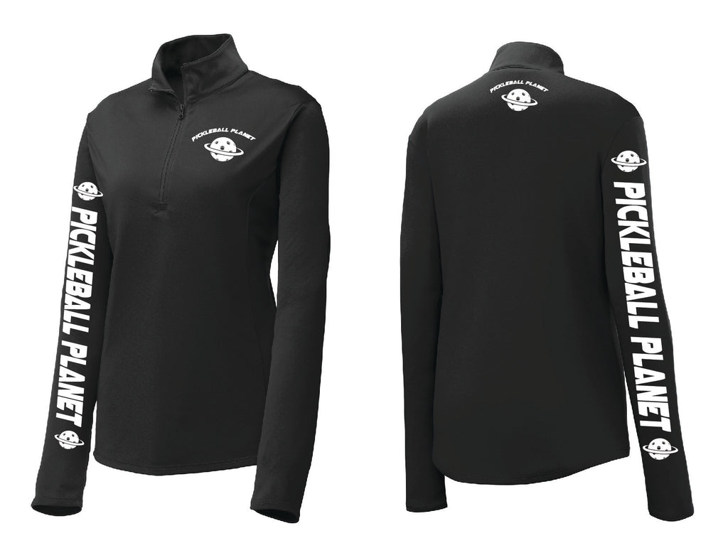 Ladies Competitor™ 1/4-Zip Pullover 'Pickleball Planet'