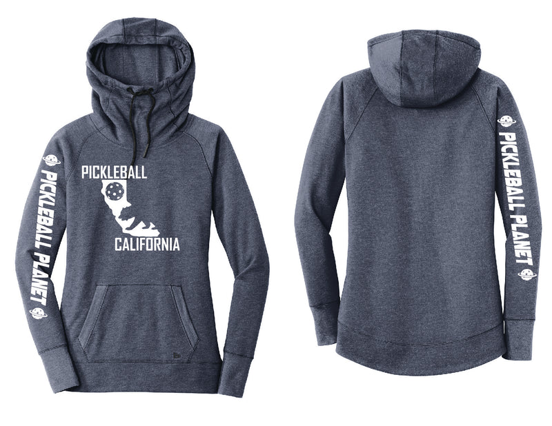 Tri Blend Pullover Navy Blue California Bear Hoodie