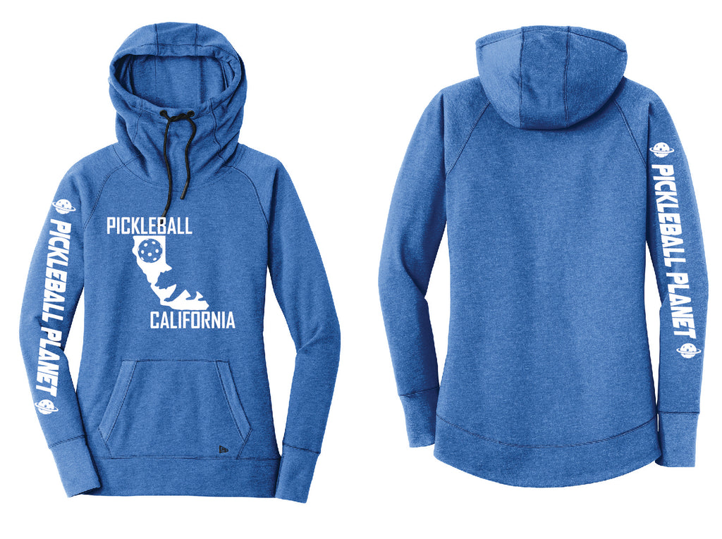 Tri Blend Pullover Royal Blue California Bear Hoodie