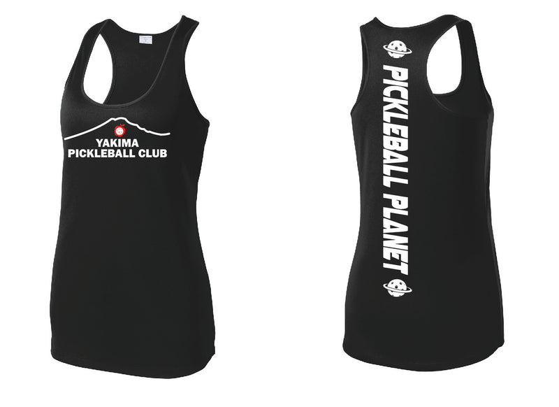Ladies Performance Racerback Tank 'Yakima PC'