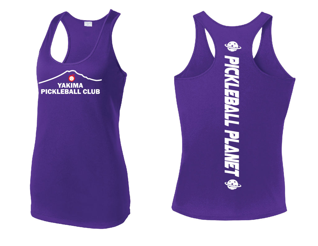 Ladies Racerback Tank 'Yakima PC'
