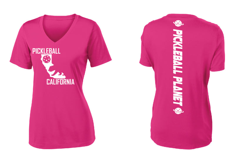 Short Sleeve Pink Raspberry California Bear