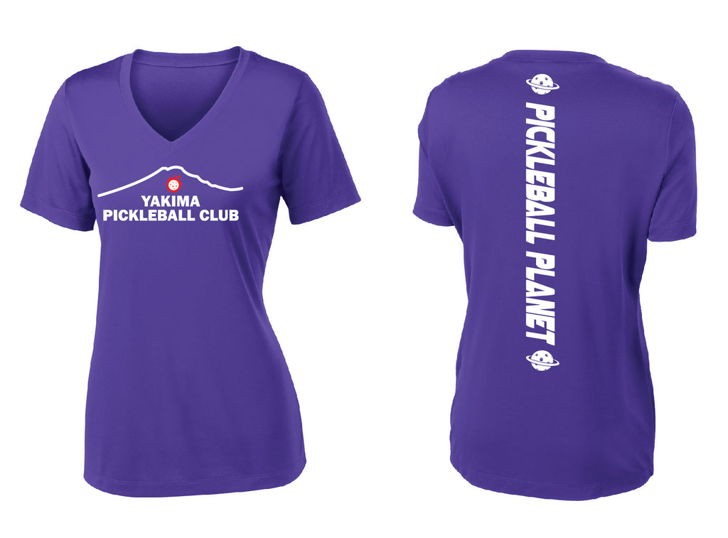 Ladies Short Sleeve Performance V-Neck Tee 'Yakima PC'