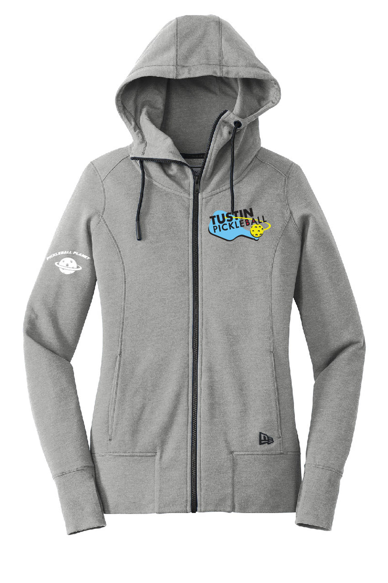 Ladies NEW ERA Tri-Blend Fleece Full-Zip Hoodie 'Tustin PBC'