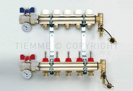 Tiemme UFH Manifolds - Enter Energy & Water