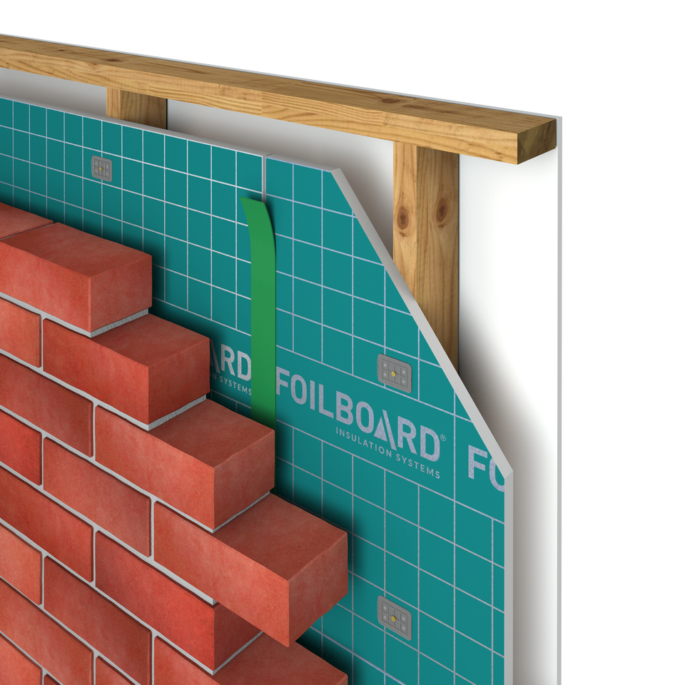 Foilboard Wall Insulation - Residential - Enter Energy & Water