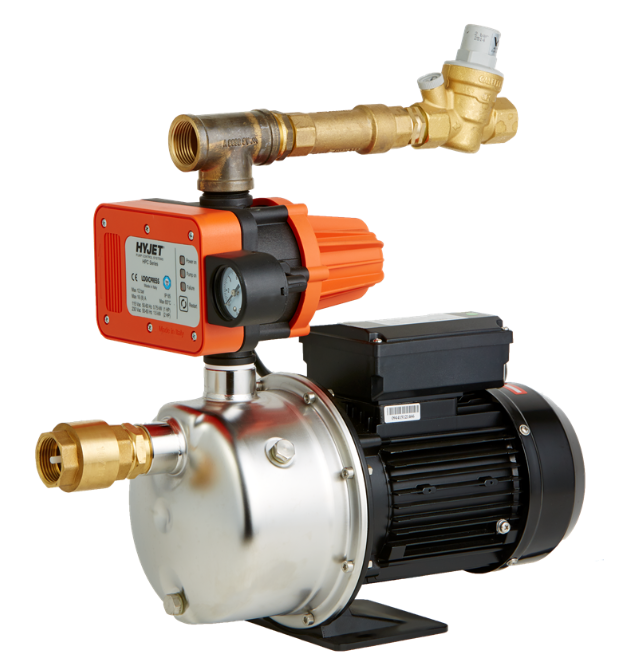 Mains limit 200 kPa - Hydraulic Rain/ Mains Changeover Systems - Enter Energy & Water