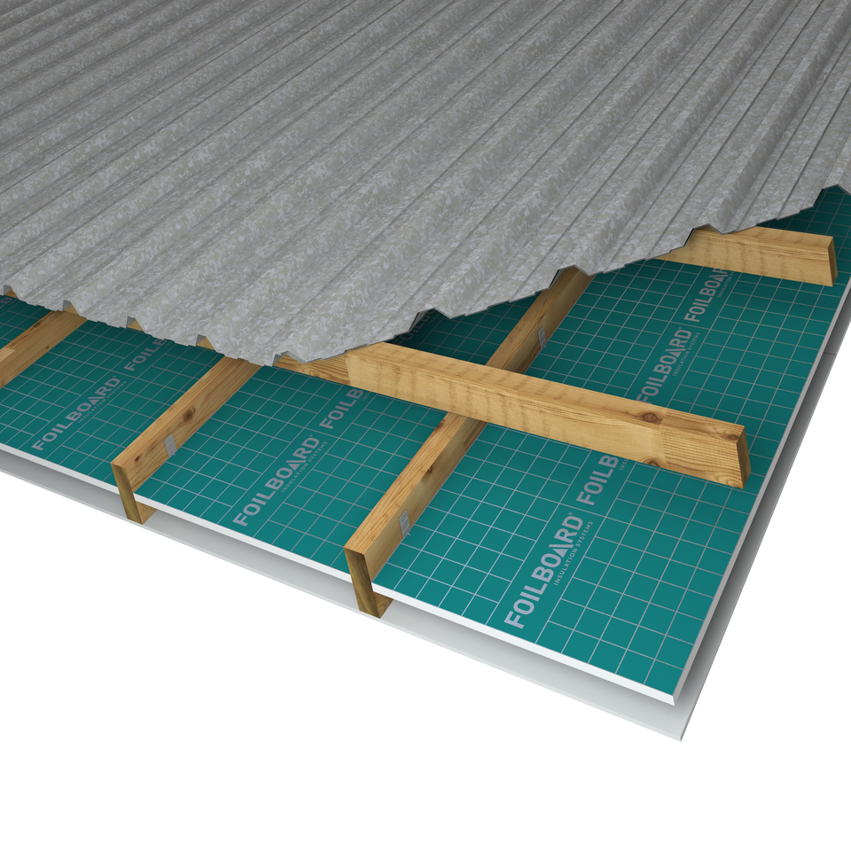 Foilboard Ceiling Insulation - Residential - Enter Energy & Water