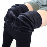Thermal Leggings w/ Soft Faux Fleece Lining (Women Free Size fits 22-33 waist)