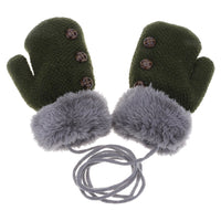 Soft Mittens (Toddler) w/ Soft Faux Fleece Lining